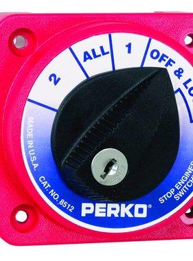 Perko Sélecteur de batterie Compact Commutateur