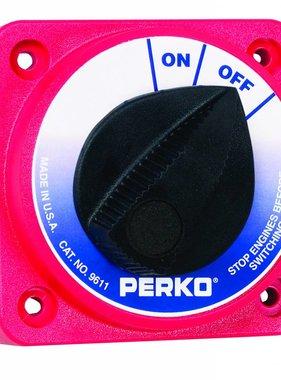 Perko Kompakter Batterie-Haupttrennschalter