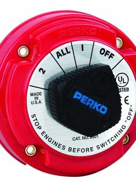 Perko Medium Batterij keuzeschakelaar
