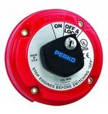Perko Mittlerer Batterie-Haupttrennschalter (optional mit Schloss und AFD)