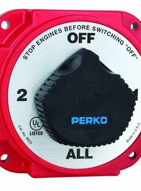 Perko Zware batterij keuzeschakelaar met AFD