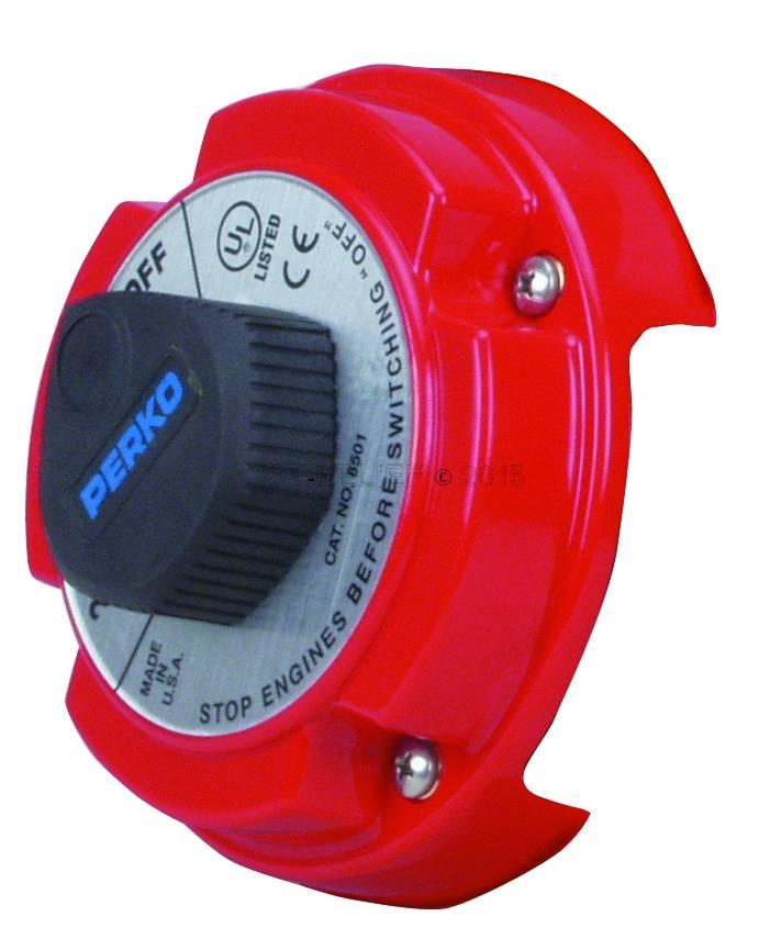 Perko Espacio para el cable al interruptor selector de la batería