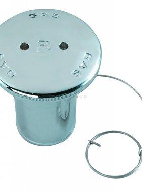 """Perko Spare cap met O-ring; voor benzine vulpijp of diesel vulpijp; voor 2 """"slang"""