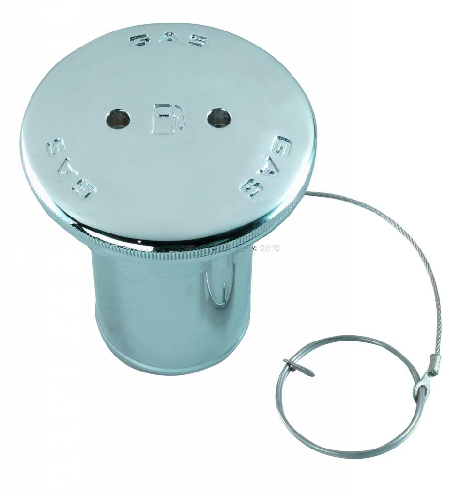 """Perko Spare cap with O-ring; for gasoline fill pipe or diesel fill pipe; for 2"""" hose"""