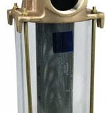 Perko Gran Colador ingesta de agua con molde de bronce y acero inoxidable cesta