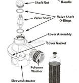 Perko Freshwater Flushing Strainer - Spare Gasket Kit (1 Cover Gasket and 2 Cylinder Gaskets)