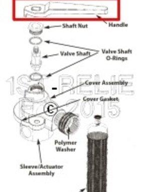 Perko Freshwater Flushing Strainer - Spare Handle