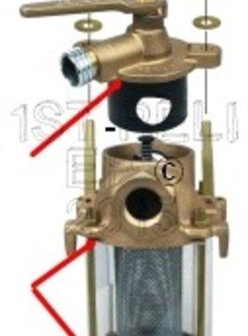 Perko Freshwater Flushing Strainer - Spare Gasket Kit