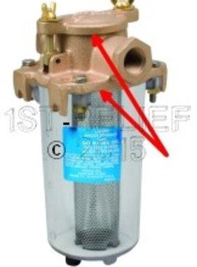 Perko Leightweight filtro de agua de admisión - Kit de juntas de repuesto