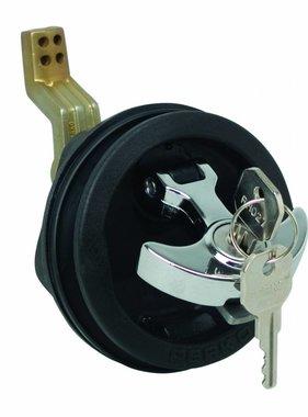 "Perko ""T"" - handle surface mount outside lock"