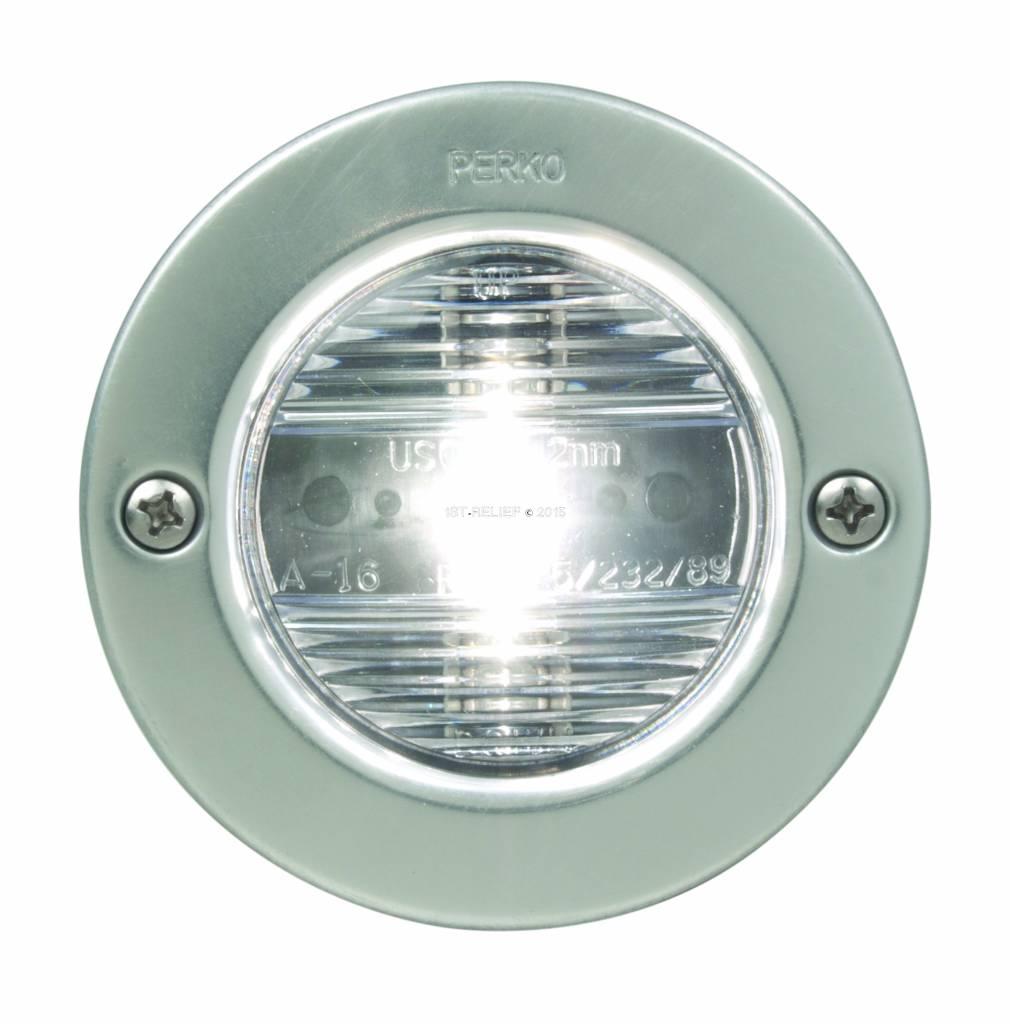 Perko Sternlight (round) vertical mount - 12VDC