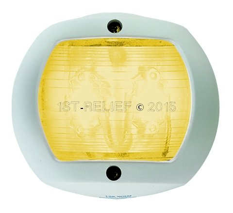 Perko LED Navigation Light for vertical mount - Towing Light (Yellow)