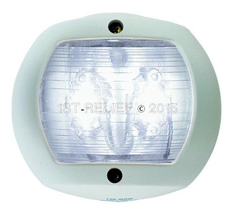 Perko LED Navigationslicht für vertikale Montage - Hecklicht (weiß)