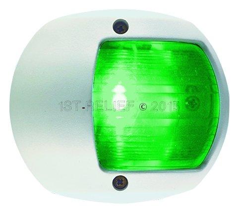 Perko LED Navigatie licht voor verticale mount - Stuurboord (Groen)