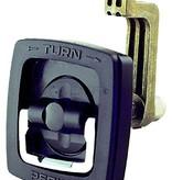 Perko Gran Latch Flush, retenes indicar la posición de apertura o cierre, manija grande permite que dos Grip Finger