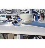 Kahlenberg S-0A Schiffshorn mit Einzeltrompete, weiß pulverbeschichtet oder verchromt