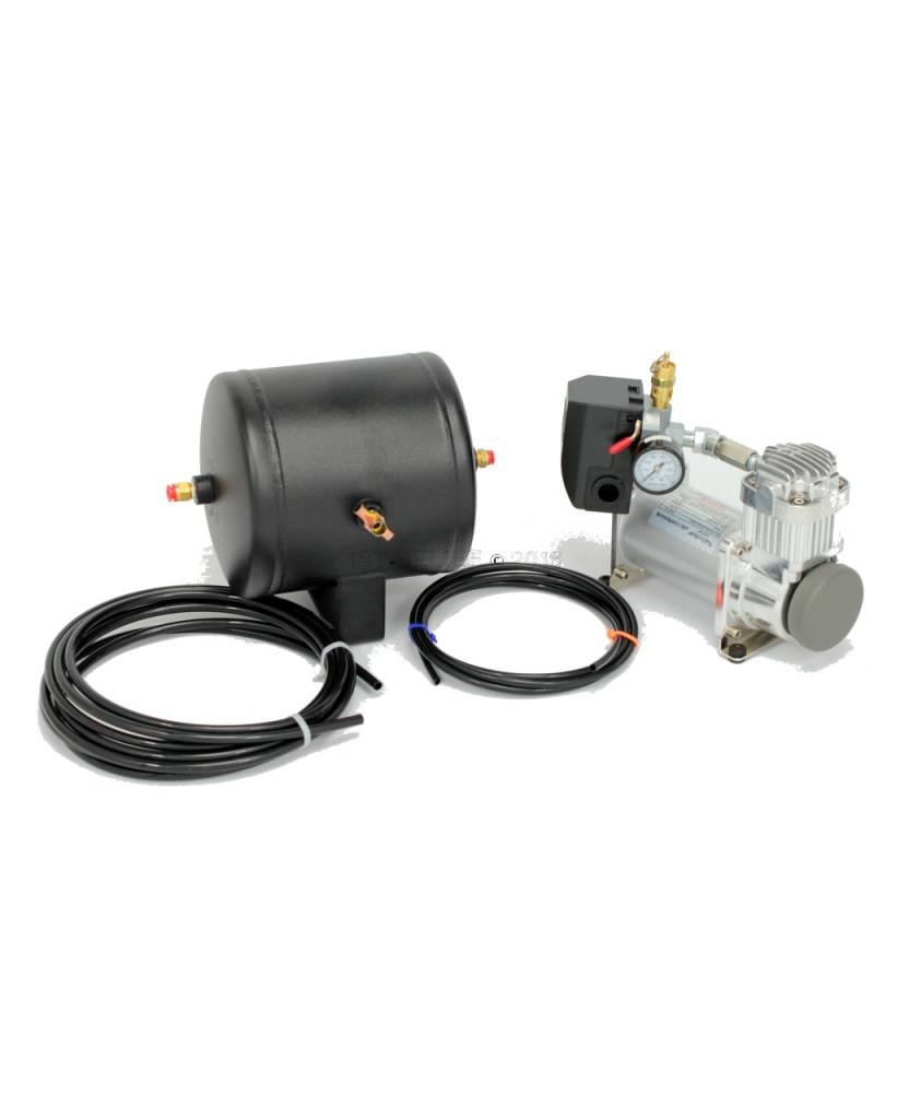Kahlenberg Compressor / Tank Kit, P449-18, 24 VDC For S-0A and D-0A Marine Air Horns. Includes Additional Fittings For K-Series Compatibility