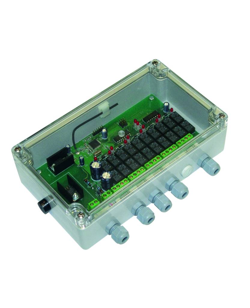 Astel Base Control Unit MYW868B; the connection box consisting including the receiver to communicate with the Remote Controller