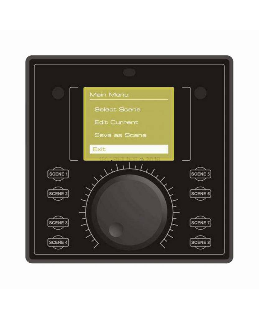 Astel DMX512 Controller MDMX01 for sophisticated lighting control by using optional DMX512 interfaces MXU01 or MXU03.