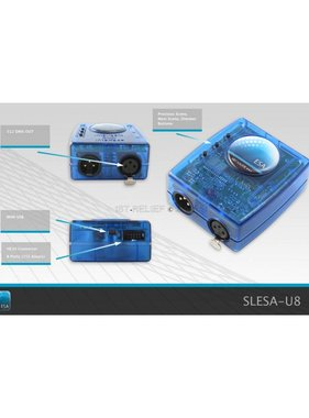 Nicolaudie DMX512 controller SLESA-U8