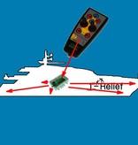 Astel Wireless Yacht Control System MYW868BCP (controles motoren, anker windlassand thruster)