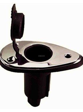 Perko Palo della luce Base di montaggio (superficie a forma di goccia) Tipo Plug-In