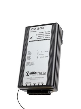 Alfatronix 12-24 VDC Intelligent Charger for Batteries (12-24 VDC)