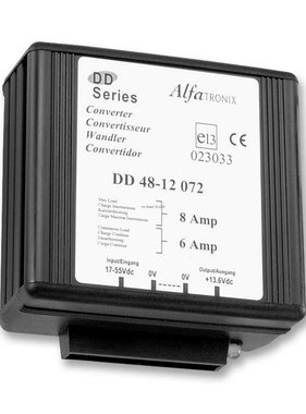 Alfatronix 48 VDC to 12 VDC Power Converter non-isolated