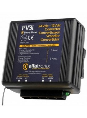 Alfatronix 24 VDC to 12 VDC Power Converter isolated