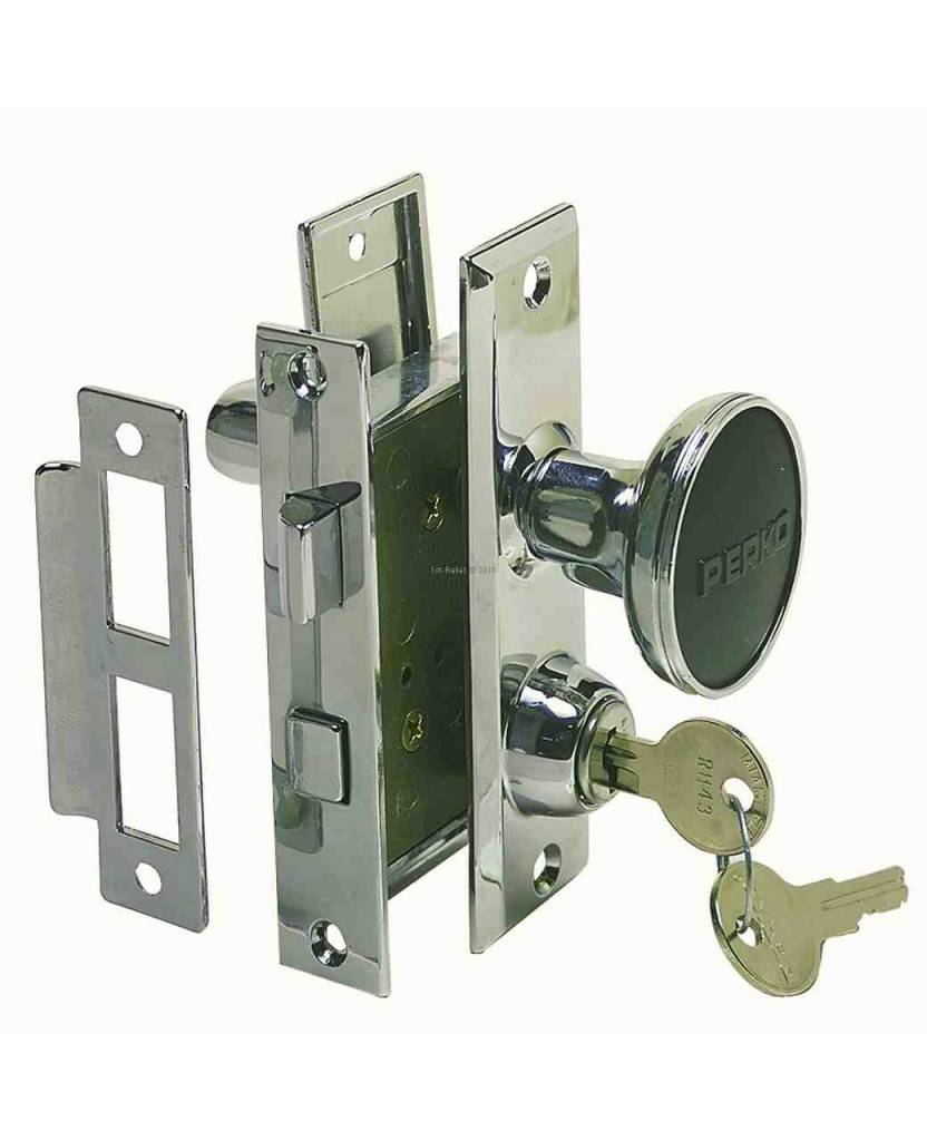 Perko Cabindoor - Mortise Lock Set with Turn Button