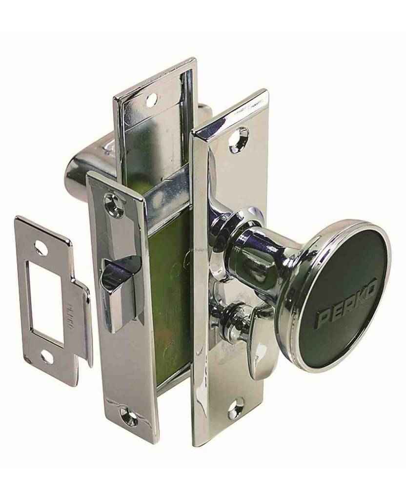 Perko Cabindoor - Mortise Latch Set with Turn Button