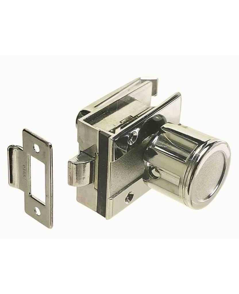 Perko Cabindoor - Flush latch set with knob handle