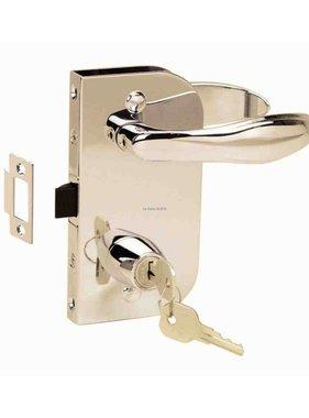 Perko Cabindoor - Flush lock set met handvatten