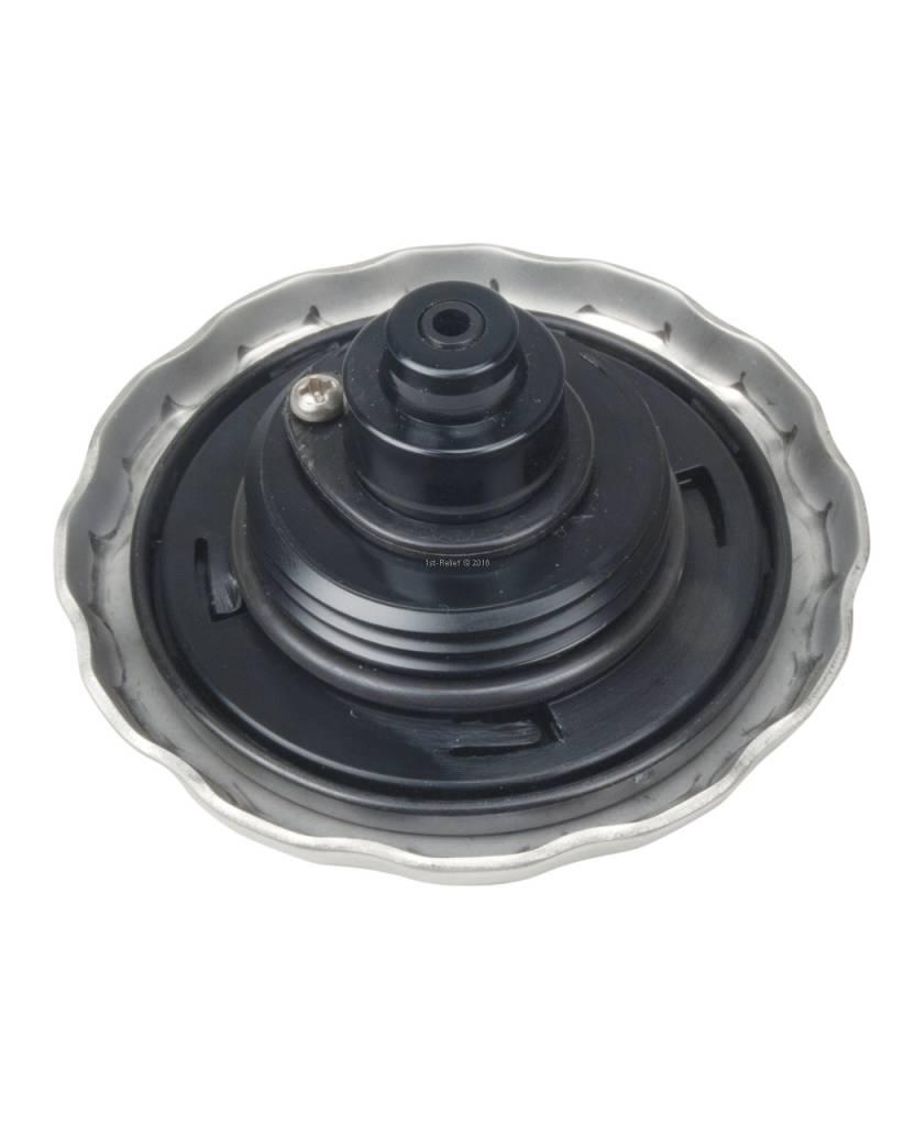 Perko Benzin-Einfüllstutzen mit Ratschen-Dichtung und Vakuumentlastung / Überdruckentlastung (VOPR)