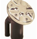 Perko Gasoline-filler pipe with ratcheting seal and vacuum relief / over pressure relief (VOPR)