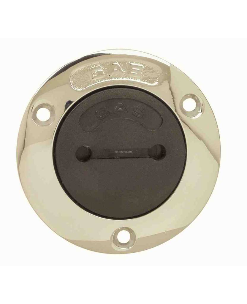 "Perko Spare cap with O-ring non vented; for gasoline, diesel and water fill pipe; for 1-1/2"" hose"