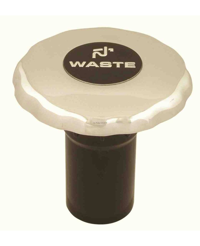 Perko Diesel, Agua Residuales o tubo de llenado con el anillo o el 1 - Manguera de 1/2 pulgadas; Sin ventilación