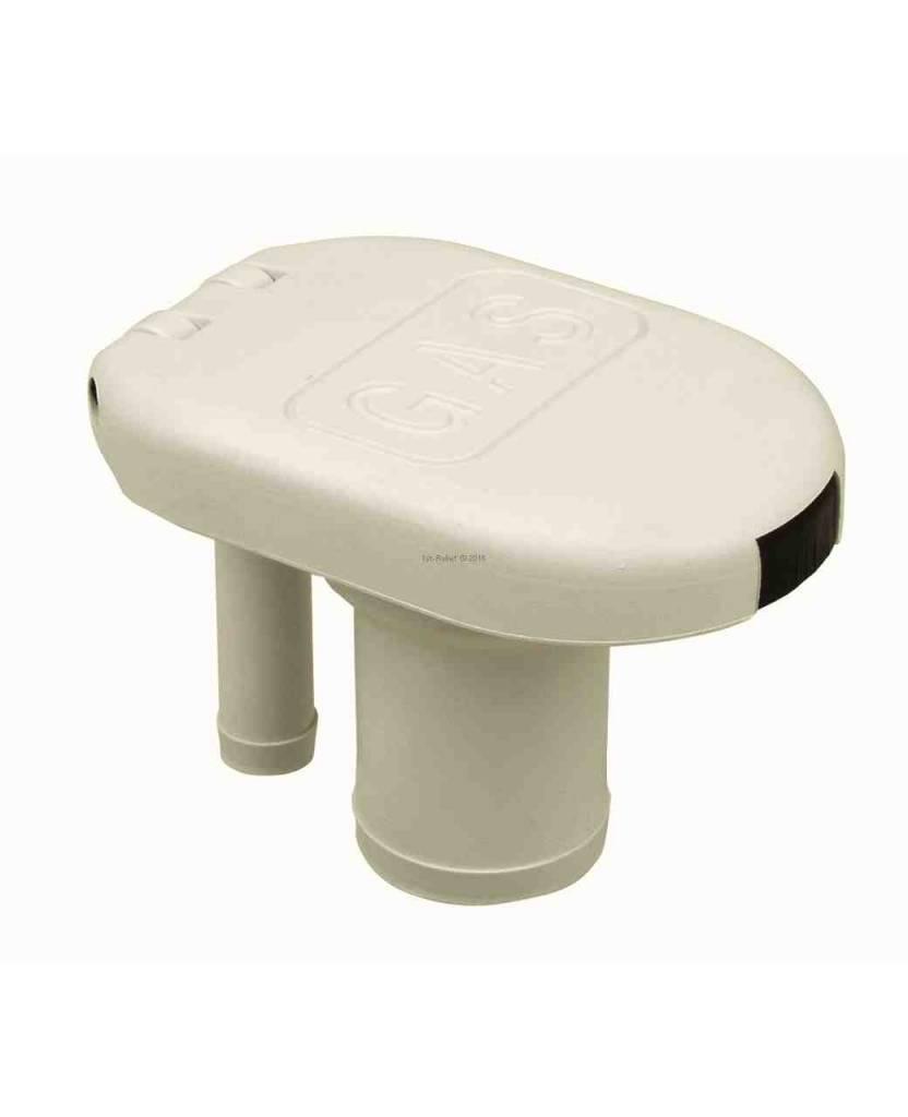 Perko Einfüllstutzen für Benzin oder Wasser mit Flip-Top-Kappe; belüftet; für 1-1 / 2-Zoll-Schlauch