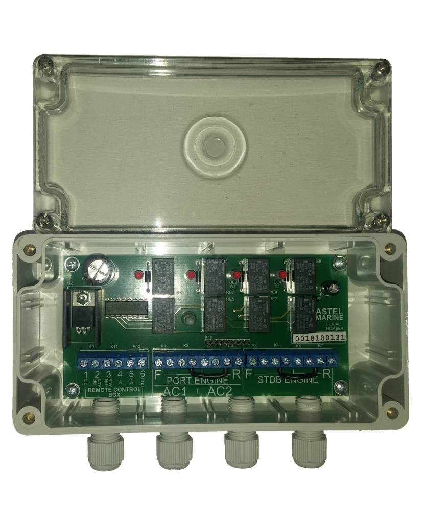 Astel Additional Control Unit MYW868BE for the wireless yacht control system MYW868BCP