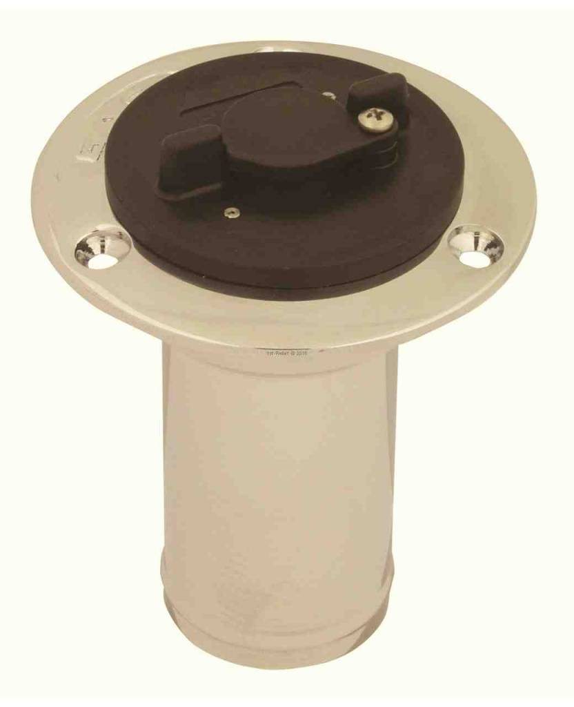 Perko Yacht fuel system anti-theft locking-cap for NON-vented 1 1/2 inch filler pipe