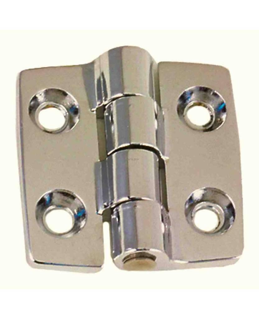 Perko Scharnierband, Öffnungswinkel 180°, für stumpf einschlagende Türen