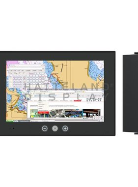 Hatteland Display Panel-Computer mit Touchscreen für Navigationsleuchten-Verwaltung
