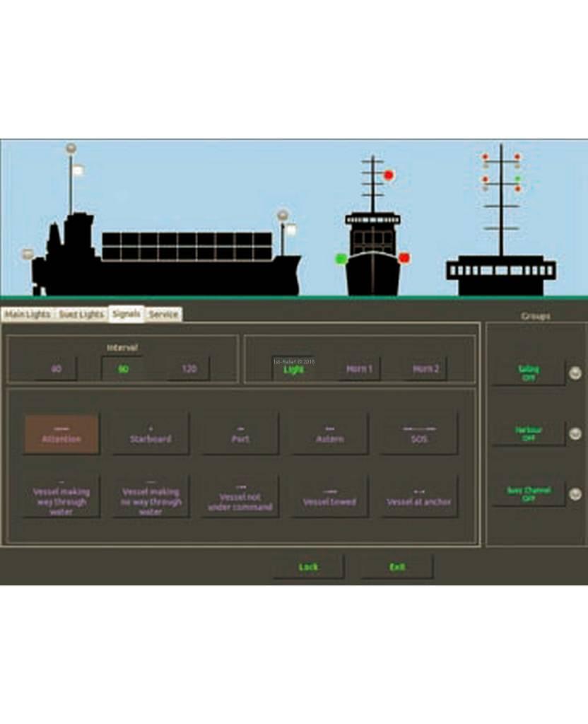 Peters&Bey 12/24 VDC SET - certified Navigation Lantern Management system
