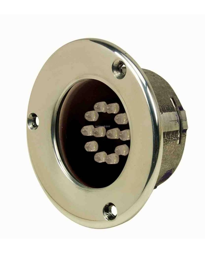 Perko ancla de proa y la luz LED de la nave en el diseño o en ángulo recto