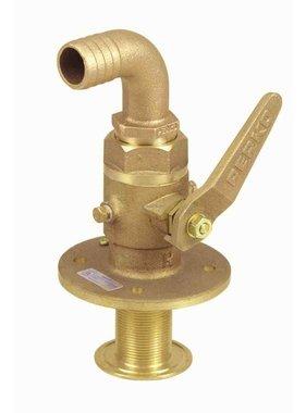 Perko Sea cock gebogen - ball-valve