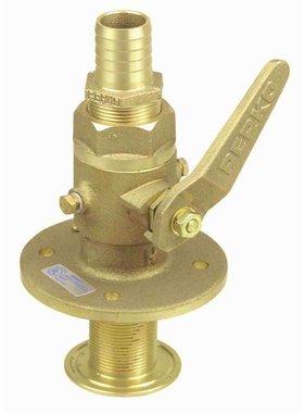 Perko Sea cock straight - ball-valve