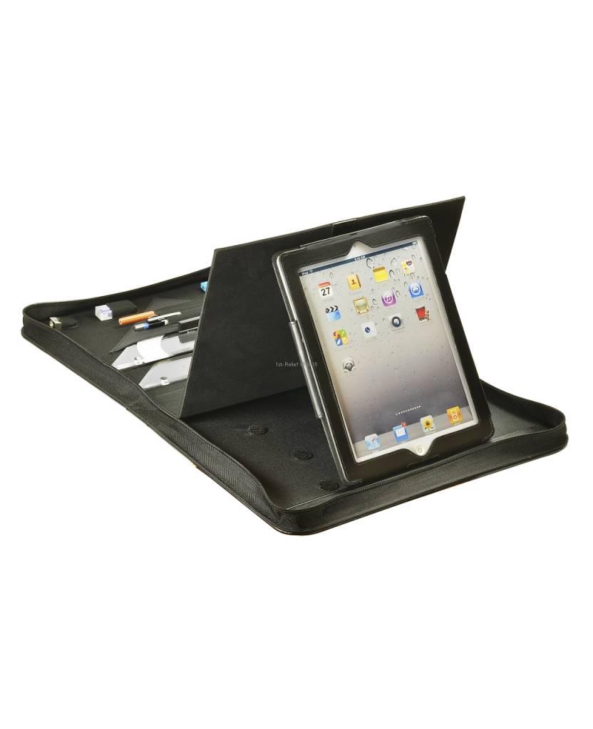 ECOBRA Skipper-Navigations-Mappe mit iPad-Fach Exklusivmodell. Hochwertige Navigations-Mappe für den anspruchsvollen Skipper.