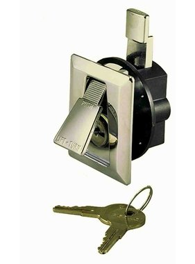 Perko Chrome plated Flush Lock with 2 keys
