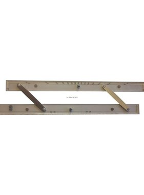 ECOBRA Parallel - ruler; 45.7 cm (18 inches)