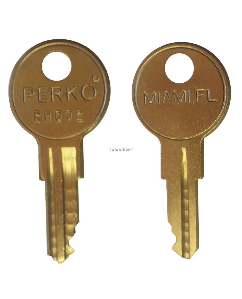 1st-Relief Llaves de repuesto (2 piezas) para todos los productos con cerradura